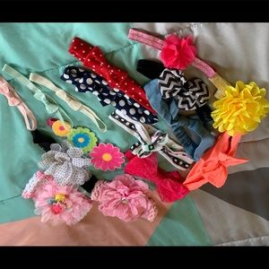 Bundle of Babygirl Headband Bows